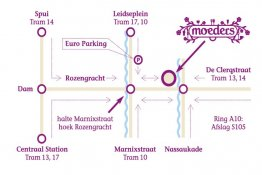Contact & Route | Moeders on
